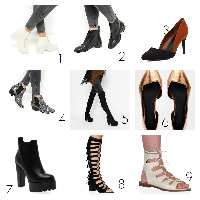 Autumn boots wishlist