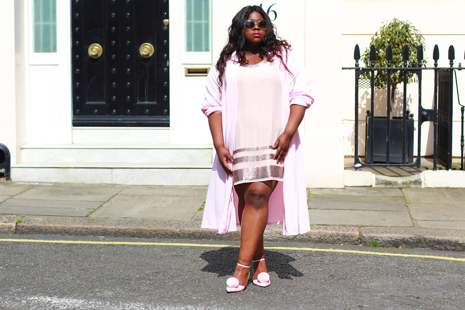 Millennial Pink with Navabi